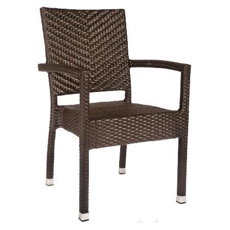 vebo rattanstuhl victory braun. Black Bedroom Furniture Sets. Home Design Ideas